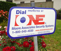 Dial One Security Sign